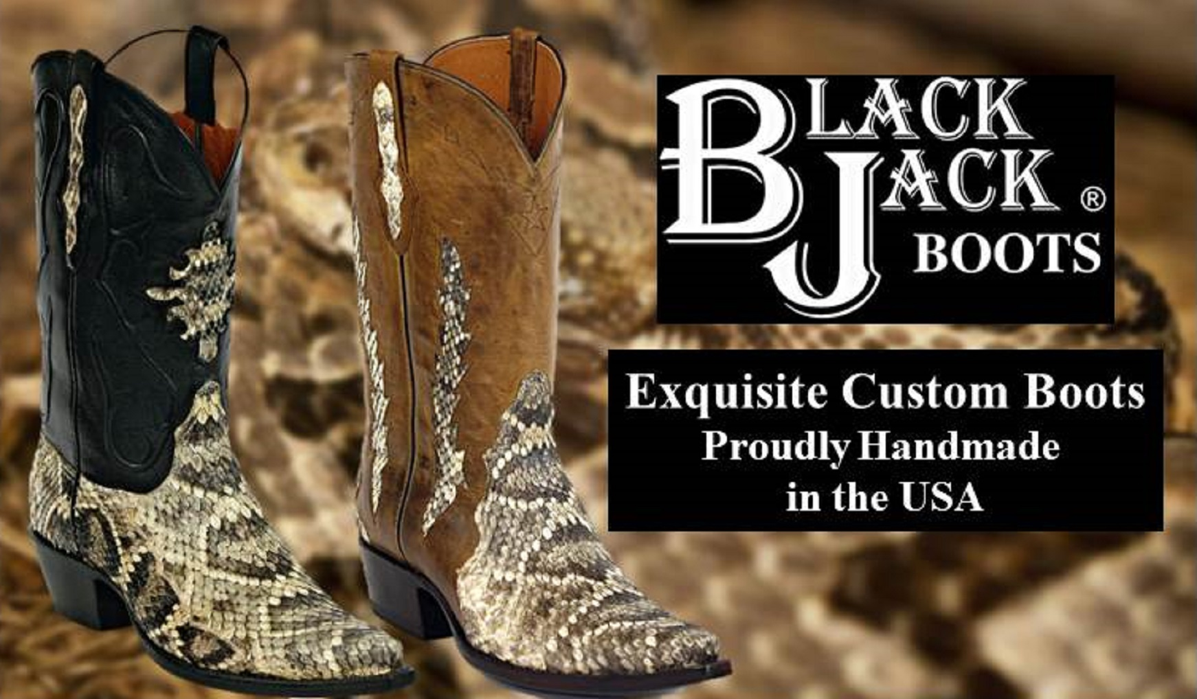 c5571779ba9 Black Jack Boots.